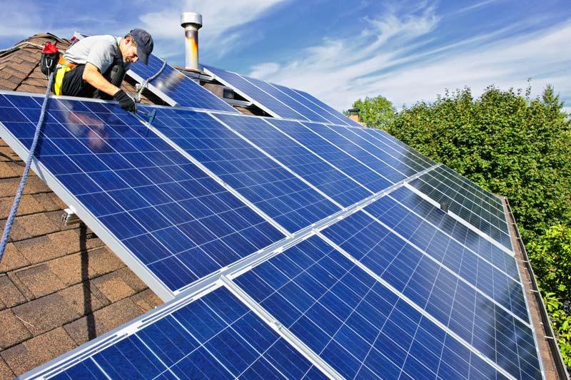 Podłączyć panele słoneczne